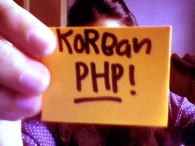 Sebenernya tidak semua cinta ditolak itu karena masalah PHP tapi karena kitanya aja yang terlalu berharap -_____-
