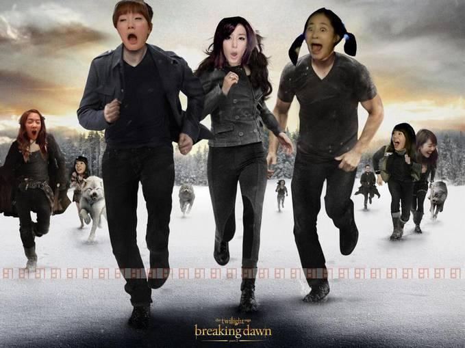 Coming Soon...!!! Twilight-Breaking Dawn SNSD version...hahahahah...LOL XD