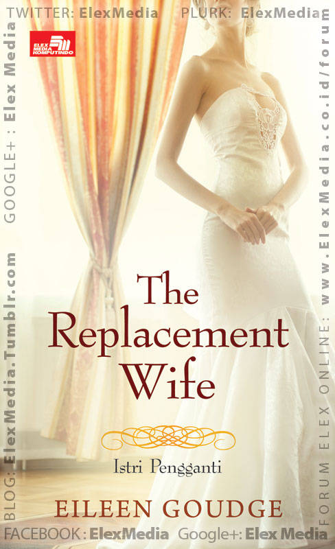 Mencari wanita yg tepat sebagai pengganti diri namun berhati-hatilah dengan keinginanmu.. CR: THE REPLACEMENT WIFE - Istri Pengganti http://ow.ly/jX944