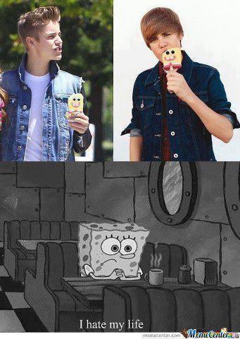 wkwkwkwkwkwkwkwkwk... SpongeBob HATE MAHO JB
