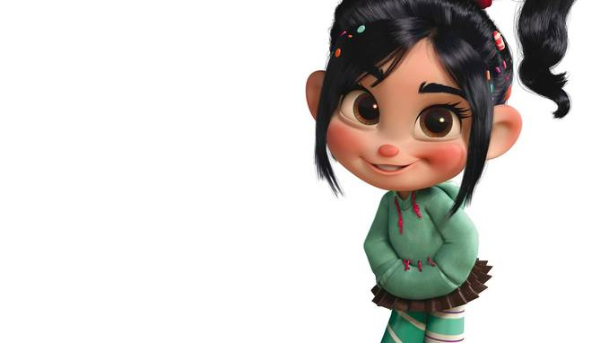 what is her name ? WOW clue : pemain WRECK IT RALPH like this bro (WOW)
