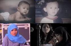ini foto fatin part 2..dari bayi umur 8 bulan,umur 4 tahun,dan foto 3 dan 4 itu dia yang sekarang,diambil dari situs resmi fatin shidqia lubis..wow ya