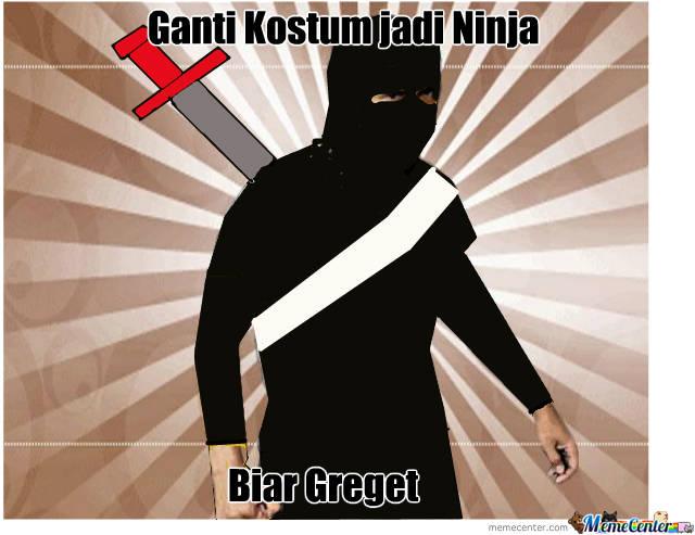 Bayangkan Jika Maddog meme menjadi ninja,pasti greget!