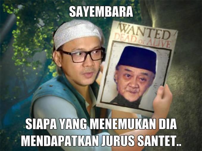 Wanted Eyang Subur