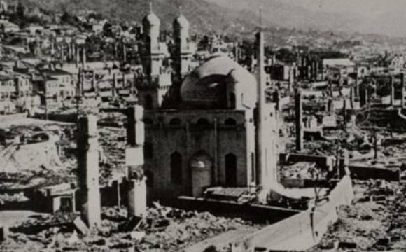 Masjid Kobe Tetap kokoh meski diterjang bom dan gempa dasyat