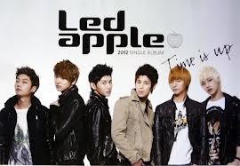 led apple korean boyband