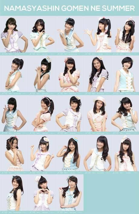 JKT48 GOMEN NE SUMMER SEIFUKU