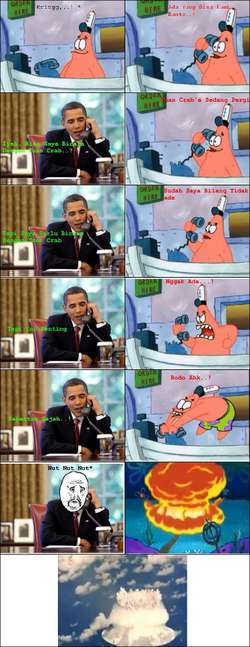 Patrick dan Obama