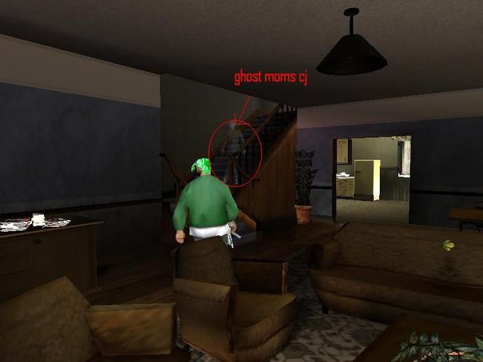 ada penampakan hantu di gta sa