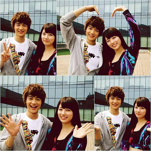 Suzy and Minho ?