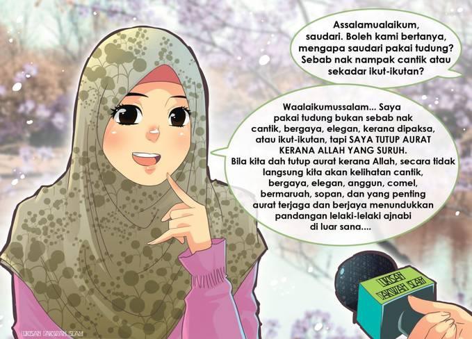 Untuk Cewek - Cewek islam Pake kerudung