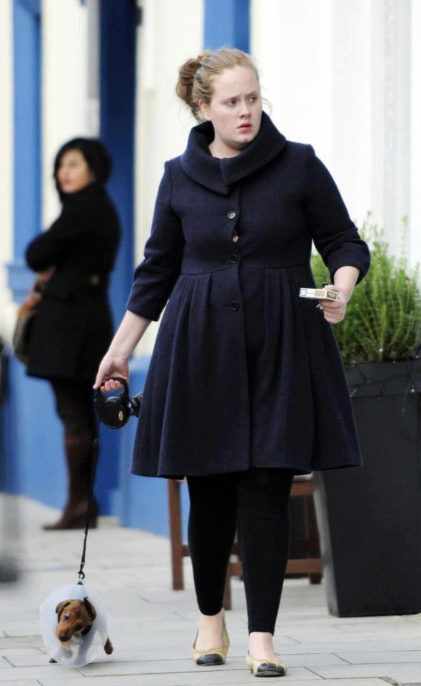 Adele Natural Women !! :) ternyata Adele masih Cantik ya walaupun Gak Dandan !!