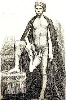 Inilah salah satu manusia dengan bentuk tubuh teraneh di dunia yang bikin ane geleng-geleng kepala gan, Juan Baptista Dos Santos namanya. Dia lahir di Fago, Portugal pada tahun 1843. Dia memiliki dua buah penis loh! Ia terlahir dengan kelainan