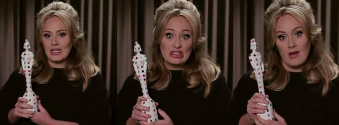 Adele Penyanyi Muda Inggris Terkaya .. :) Siapa yg Setuju Bilang wow !! Di Pojok Kiri Atas !! :)