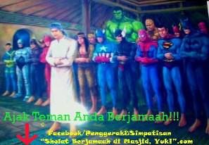 heroes aja sholat KLik WOW ya..................