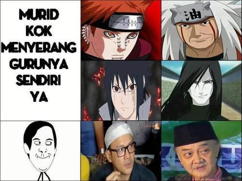 murid vs guru: pain vs jiraiya sasuke vs orochimaru adi bing slamet vs eyang subur