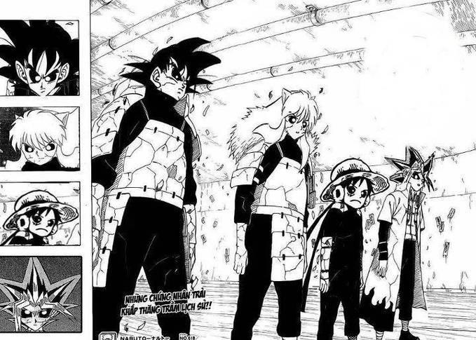 Mna WOWnya Donk Untuck Edo Tensei Brikut Nee. . . Goku. . . Inuyasha. . . Luffy. . . Yugi. . . :)