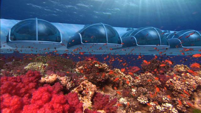 Resor bawah laut yg indah