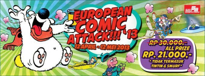 European Comic Attack 2013