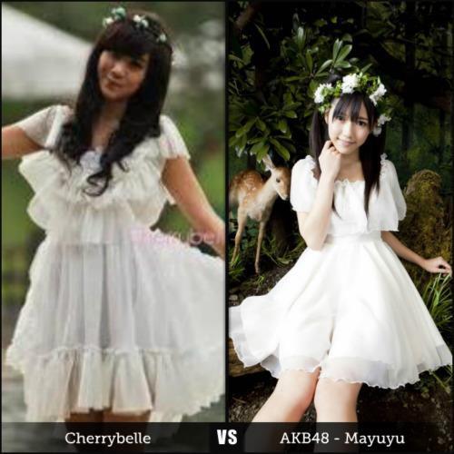 Annisa Chibi VS Mayu Watanabe AKB48 !! kalian pilih yang mana ??