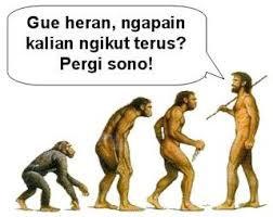 Evolusi manusia :)