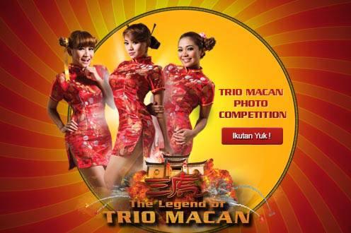Photo Competition hadiahnya menarik masup sini yak http://www.facebook.com/TheLegendOfTrioMacan/app_130739700449779?ref=ts