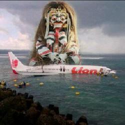 Ternyata oh ternyata PILOT takut sama LEAK LEAK BALI OH GOD....