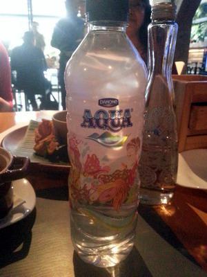 Ini Botol Aqua yang Baru. Representasi Indonesia :)