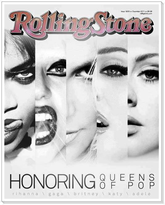 Menurut Kalian mana yg Pantes Jadi Cover Majalah ROLLING STONE !! Rihanna,Gaga,Britney,Katy,Adele ... Please comment And dont forget to WOW .. !! :)