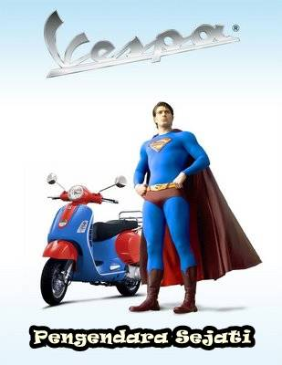 Super Vespa Gaul Man Wooooww Nya dulu donk!