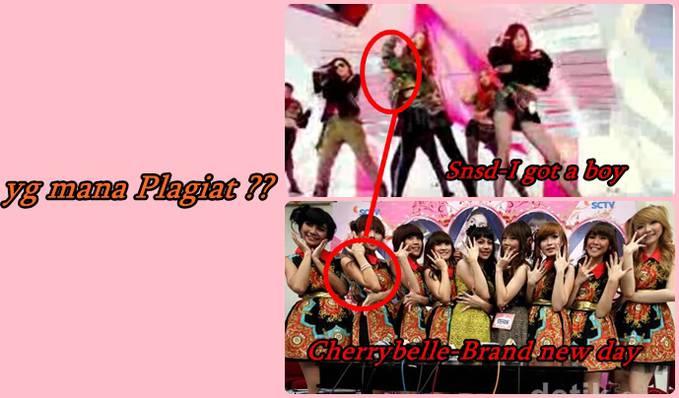 siapakah yg plagiat gaya ini ? cherrybelle atau snsd?? :)