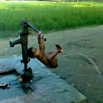 Penemuan Pompa Air terbaru abad ini :D