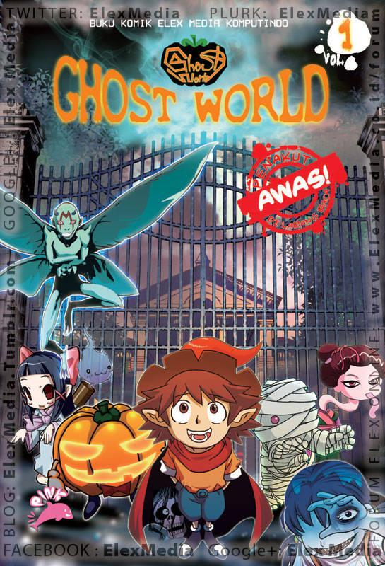 Cerita tentang hantu yang menegangkan dan menyeramkan dari seluruh penjuru dunia. Status di Korea: tamat 50 volume. GHOST WORLD vol. 01 http://ow.ly/kbboB Harga: Rp. 50.000