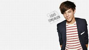 Louis Tomlinson :3 siap jdi wallpaper kmu.. wow,cute bangettt