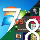 Perbandingan Kemampuan Windows 7 dan Windows 8