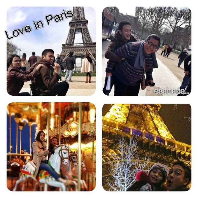 yang kangen sama LOVE IN PARIS,,, WOW nya donk.....