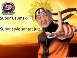 santet jutsu dari subur uzumaki... hahaha.... LOL :-P