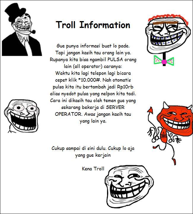 Troll information, penting nih. WOWnya juga