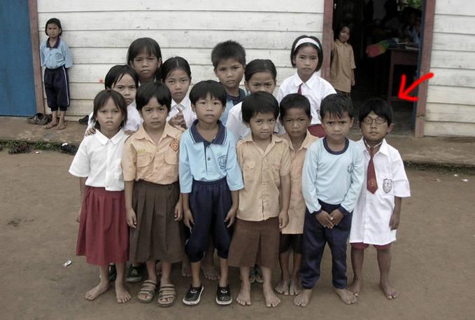 Foto masa kecil GAYUS..