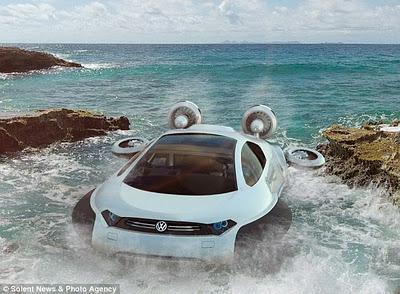 """Aqua Volkswagen, Konsep Mobil 3 Alam """" Air, Darat dan Es """""""