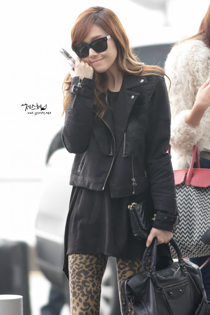 Jessica SNSD airport fashion