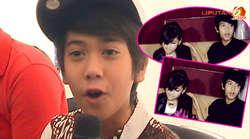 Di ulang tahun Caca yang ke-10, Iqbal Coboy Junior terlihat mendekati anak dari Parto