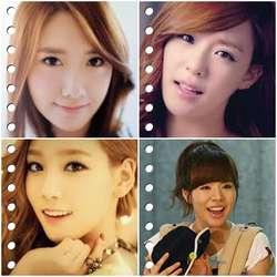 cantik mana? a)Yoona b)Tiffany c)Taeyeon d)Sunny
