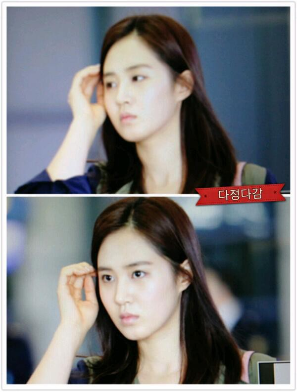 Anyone agree that Yuri looks younger with out makeup?