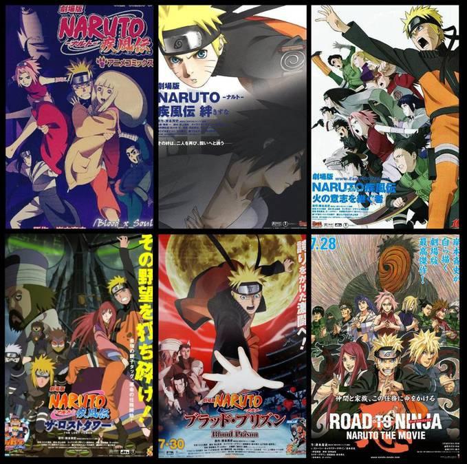 Favorite Movie? Berapa WOW buat Naruto CS.