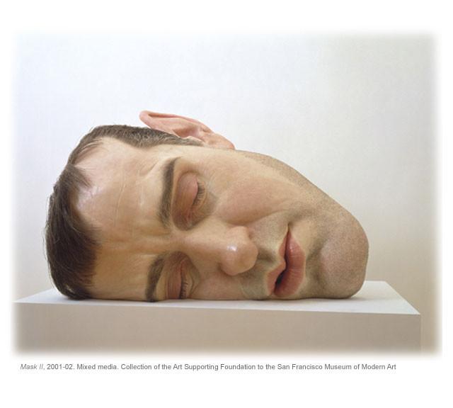 WOW keren ya, zaman sekarang seniman makin pintar membuat kreasi! tuh liat deh, seniman aja bisa bikin patung menyerupai kepala manusia HEBAT!