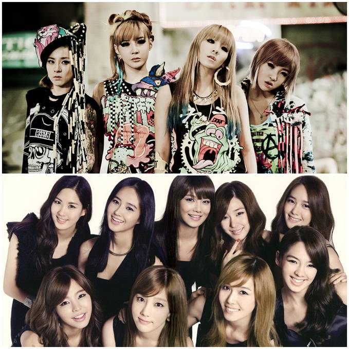 2NE1 Or Girl Generation ? Me:2NE1 :D