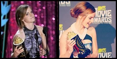 Tahun 2012, Emma Watson sudah membawa piala pemain film terbaik 2012. Tahun 2013, Emma Watson kembali membawa piala pemain film terbaik 2013. Wow! Please klik WOW!