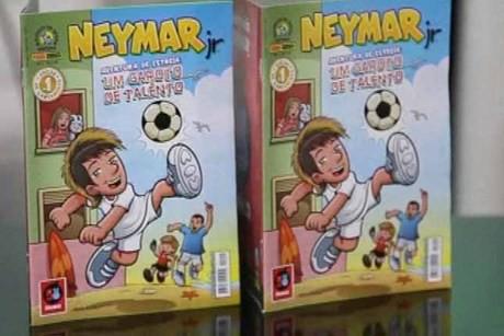 Comic terbaru ..? di perankan Oleh pemain sepak Bola .. NEYMAR