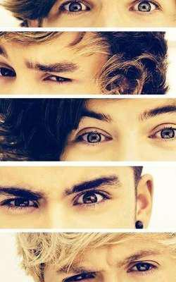 eyes of 1D